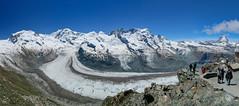 Gorner glacier panorama (tucker.ralph) Tags: gornergrat alps snow mountains sky glacier ice