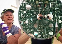 Mirrors (Allan Henderson) Tags: tate modern mirrors sculpture reflections infinite greenish brace cast