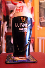 A drink while watching rugby (Venvierra @ GothZILLA Photography) Tags: gothzillaphotography canon 600d canon600d eos canoneos canoneos600d england rugby drink guinness glass alcohol