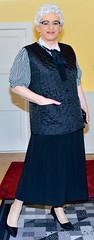 Ingrid022509 (ingrid_bach61) Tags: pleatedskirt faltenrock waistcoat weste bowblouse schleifenbluse mature