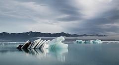 The Journey (Explored) (RattyBoots) Tags: canon24105l canon5dmk3 iceberg iceland breiðamerkurjökull jökulsárlón lake moody 03092015