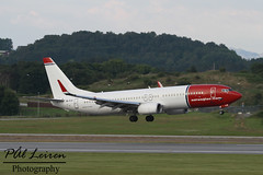 Norwegian Air International - EI-FJK - 2016.07.24 - ENZV/SVG (Pl Leiren) Tags: stavanger sola norway svg enzv flyplass airport planes plane planespotting aviation aircraft runway rw airplane canon7d 2016 airliner jet jetliner july july2016 norwegian air international eifjk norwegianairinternational boeing 7378jpwb738