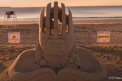 SSS_0193 (Sam 8899) Tags: sand sculpture beach sunrise morning light sky sea color
