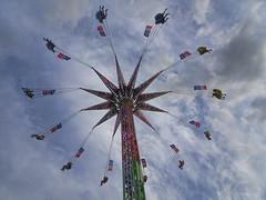 Giant Swing (SPP - Photography) Tags: swing fun midwayrides minnesotastatefair saintpaul giantswing minnesota carnival mn statefair fair carnivalrides rides