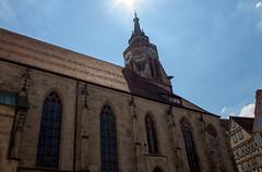 L'glise Stiftskirche zu St. Georg dans le centre historique de Tbingen (ichael C.) Tags: vacances allemagne visite tourisme lglise stiftskirche zu st georg dans le centre historique de tbingen ville
