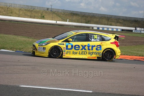 Alex Martin at Rockingham, August 2016