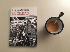 Da 1 | Caf en casa (Chimista) Tags: jan caf 365coffeeroad cmic libros taza cuchara