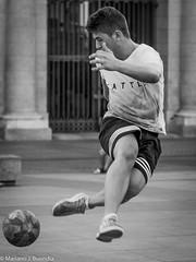 P8280038.jpg (laleicasinlente) Tags: bw soccer people street football madrid candid