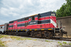 HOS 467 Tell City IN 13 Aug 2016 (Train Chaser) Tags: hoosier southernhoosier southern excursion traintell cityhoosiersouthern hoosiersouthernexcursiontrain tellcity hoosiersouthern tellcityin