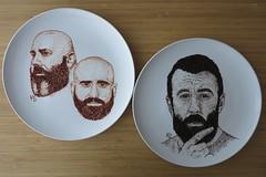 epic beard men (pedalstrike) Tags: foodart epicbeardmen scroobiuspip tea tealeaves sagefrancis bdolan cranberries