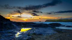 Polzeath Cornwall (Scruddy) Tags: polzeath cornwall sun rocks beach nature natural scruddy nikon d810 nikkor 2470