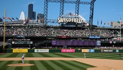 Safeco Field Flags - Aug 24, 2016 (Jeffxx) Tags: seattle mariners safeco baseball yankees game 2016 august field