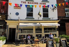 Favourite pub. (A tramp in the hills) Tags: pub doncaster masonsarms