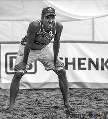 The Wait (Danny VB) Tags: volleyball beachvolleyball portrait blackandwhite men
