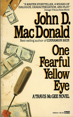 Novel-One-Fearful-Yellow-Eye-by-John-D-MacDonald (Count_Strad) Tags: novel cover art coverart book western scifi wwii
