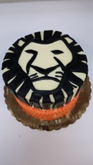 Lion King Cake (dragosisters) Tags: silhouette face lion cake broadway lionking