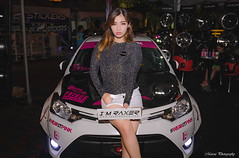 MAR_8407 (Marcus Lim @ WK) Tags: people model car show performance vios nikon tamron1750 night portrait
