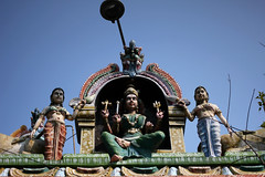 Temple Figures (zeroplate) Tags: india pondicherry