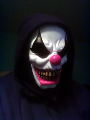 First of Chuckle's (PhotoJester40) Tags: indoors inside male me clown clownface chuckles selfie