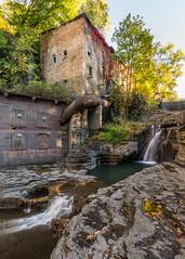 Wells Falls (John Getchel Photography) Tags: abandoned ithaca newyork waterfall wellsfalls longexposure