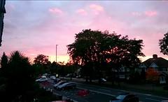 Another beautiful skyline this evening #pink #purple #trees #sunset #sky #Hanworth #home #orange #blue (Rebecca Jay Thorne) Tags: blue pink hanworth sky purple sunset home orange trees