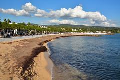 La Ciotat / Clouds on the beach (Pantchoa) Tags: laciotat provence france ctedazur plage mer mditerrane nuages sigma 1750f28 nikon d7100 sable eau automne