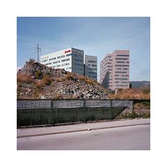 Genova High Hopes (roberto_saba) Tags: mediumformat 6x6 120 kodak portra 400 mamiya mamiya6 urban urbanlandscape 75mm f35  genova mariobelliniarchitects mariobellini bellini