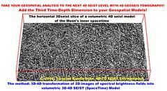The horizontal 3Dseist slice of a volumetric 4D seist model of the Moon's inner spacetime (Jaroslove Bondarenko) Tags: 3dseistmodel volumetrictransformation moon impactcraters 3dseistslice spectralbrightnessfield 4dseistmodel spacetimemodel       3dseistomography 3d4dseistmodel 4dspacetime 4dspacetimecity