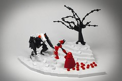 Red Like Roses (N-11 Ordo) Tags: rwby rwby4 ruby rose crescent grimm red trailer rooster teeth lego monty oum animation build n11 order model beast like roses soundtrack jeff williams bricks