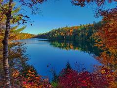 Pink Lake at Gatineau Park (mikolificus) Tags: fall autumn hike lake pinklake gatineau montreal canada quebec photo photos photography photographer nikonphotography nikon