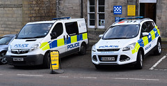 Coquetdale NPT (Cobalt271) Tags: eo66czy kn62nzt northumbria police vauxhall vivaro ford kuga proud to protect livery