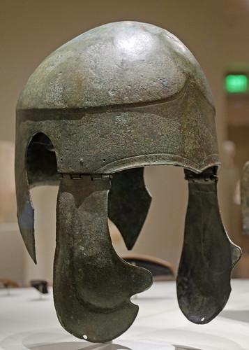 Bronze 'Chalcidian'-type helmet in Cleveland 3