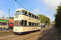 IMG_2866  Sheffield Tram No.510 Built 1950 (SomeBlokeTakingPhotos) Tags: england heritage derbyshire tram publictransport streetcar openairmuseum tramway touristattraction peakdistrictnationalpark tramcar crichtramwaymuseum transportmuseum tramwaymuseum electric50