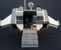 Long Range Shuttle 06 (LegoSpaceGuy) Tags: brick lego space scifi spaceship moc portlug