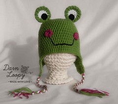Frog hat beanie (darnloopyetsy) Tags: xmas uk girls baby boys hat kids children for discount hats clothes gifts gift newborn etsy headband newborns babyclothes photographyprop babyhats