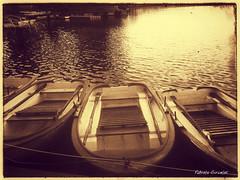 BARCAS (claverinza) Tags: paisajes sepia vintage movil lagos efectos estanques filtros nexus5