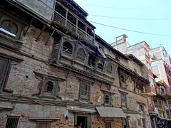 Newar balcony in Kathmandu (tomp77) Tags: wood nepal architecture balcony carving kathmandu newari newar