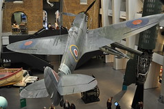 Spitfire MkIa R6915 (Richard.Crockett 64) Tags: london 1940 ww2 spitfire lambeth raf vickers worldwartwo imperialwarmuseum battleofbritain supermarine 2015 royalairforce mki r6915 609westridingsquadron