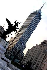 regresaaaa !!!! (maotaola) Tags: torre primer rascacielos latinoamericana inclinada cdmx