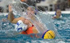 PC161705 (roel.ubels) Tags: world holland sport spain utrecht nederland league spanje oranje waterpolo krommerijn 2014 topsport