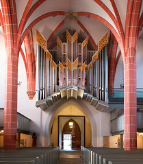 The Organ of the Town Church of Bad Hersfeld, Germany (Philinflash) Tags: church germany organ m8 2014 badhersfeld