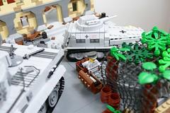 CustomBricks LEGO Custom WW2 WWII Diorama 03 (LA-Design2012) Tags: 3 buildings tank lego tiger iii wwii 7 124 sd bunker download ww2 afrika pdf 40 custom 36 blitz iv gebude instruction flak 41 opel 38 panzer pak leopold wespe railgun kfz sdkfz 2509 afrikakorps bauanleitung pzkpfw 38t ladesign nebelwerfer ausfe 2511c railroadgun ausfj custombricks