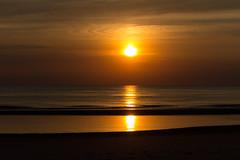 IMG_4716 (Leif Hinrichsen) Tags: sunset summer beach strand denmark island sonnenuntergang sommer insel northsea dänemark danmark nordsee abendhimmel sandstrand rømø röm nordseeinsel