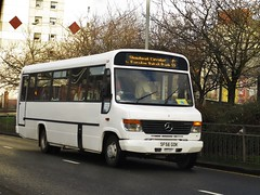 McNairn, Coatbridge SF56GOK (busmanscotland) Tags: travel 2 st jj chapel beaver mercedesbenz dac anns coaches vario coatbridge plaxton mcnairn o814 sf56gok