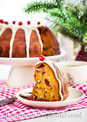 Holiday bundt cake (Katty-S) Tags: thanksgiving christmas xmas holiday apple cake pumpkin dessert sweet cranberry pecan bake bundt