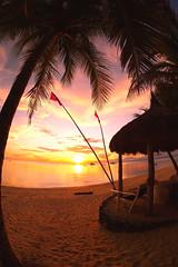 Siquijor Sunset (Larterman) Tags: travel sunset seascape beach beautiful asian asia seasia southeastasia south philippines east fisheye siquijor travelphotography travelphotos