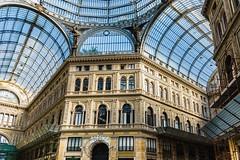 La Galleria Umberto I , Naples, Italie (ansyphotos) Tags: architecture europe country ita naples italie galleriaumberto paysvisités zenfolio naplesnapoli italieitalia plafondvitré architecturemaisonstructure