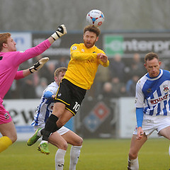 """Nuneaton Town v Bristol Rovers 040115 • <a style=""""font-size:0.8em;"""" href=""""https://www.flickr.com/photos/125622569@N04/16017747338/"""" target=""""_blank"""">View on Flickr</a>"""
