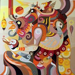 Eu vim de muito longe (chamarelli) Tags: light art painting sumerian thinkspace chamarelli sumerianart anunnakis