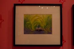Mary Blair Exhibit (HarshLight) Tags: sanfrancisco california museum disney waltdisney maryblair waltdisneyfamilymuseum